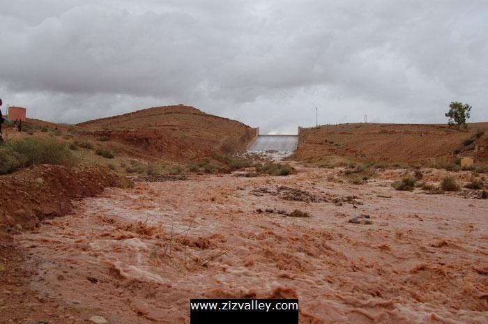 deversement barrage hassan eddakhil
