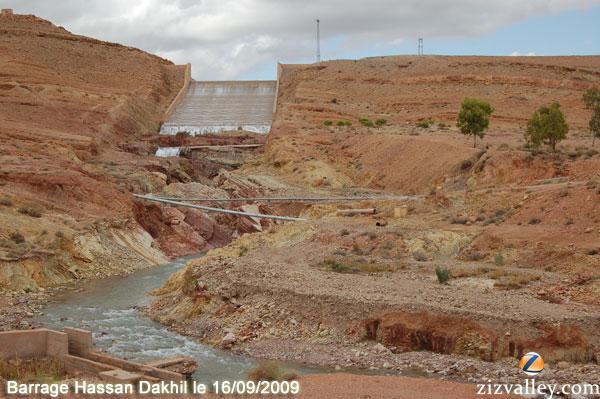 d�versement barrage errachidia