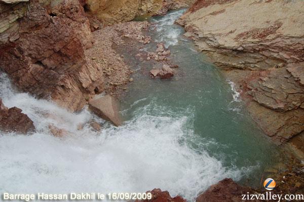 déversement barrage errachidia